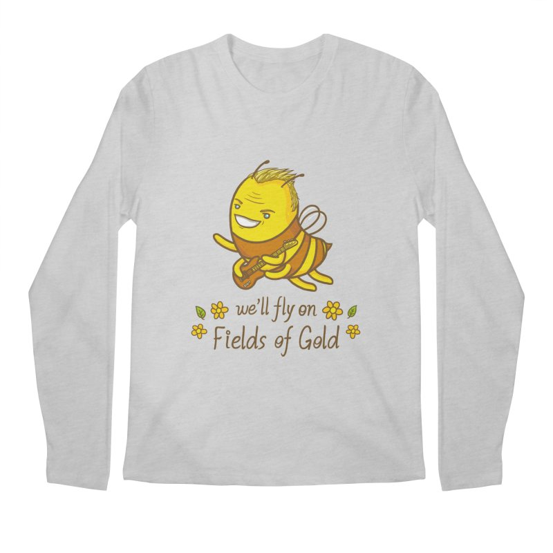 Bee Sting Men's Longsleeve T-Shirt by spookylili