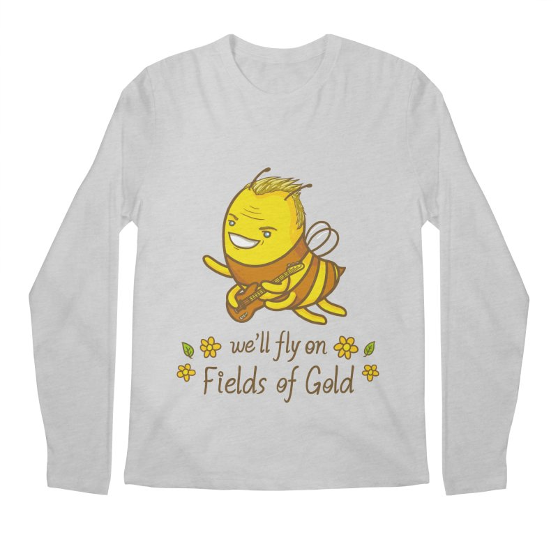 Bee Sting Men's Regular Longsleeve T-Shirt by spookylili