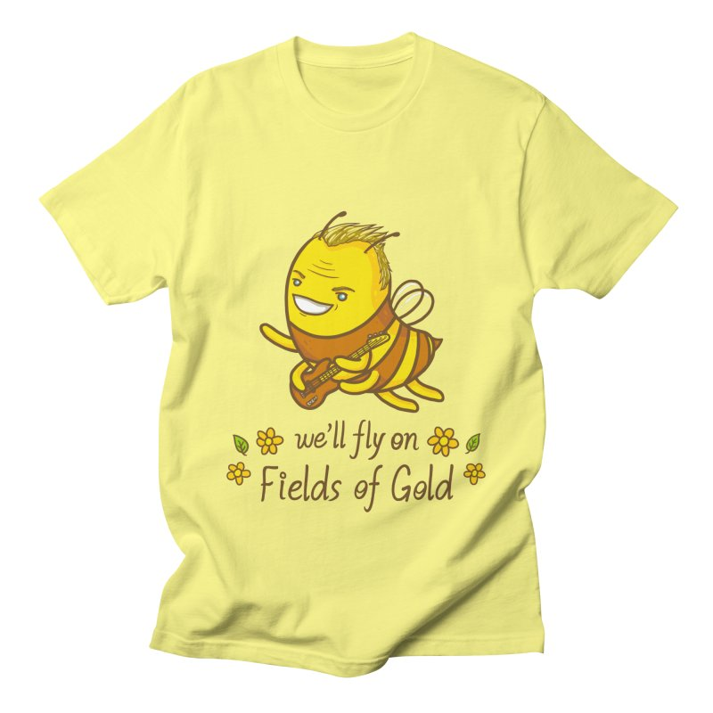Bee Sting Men's T-Shirt by spookylili