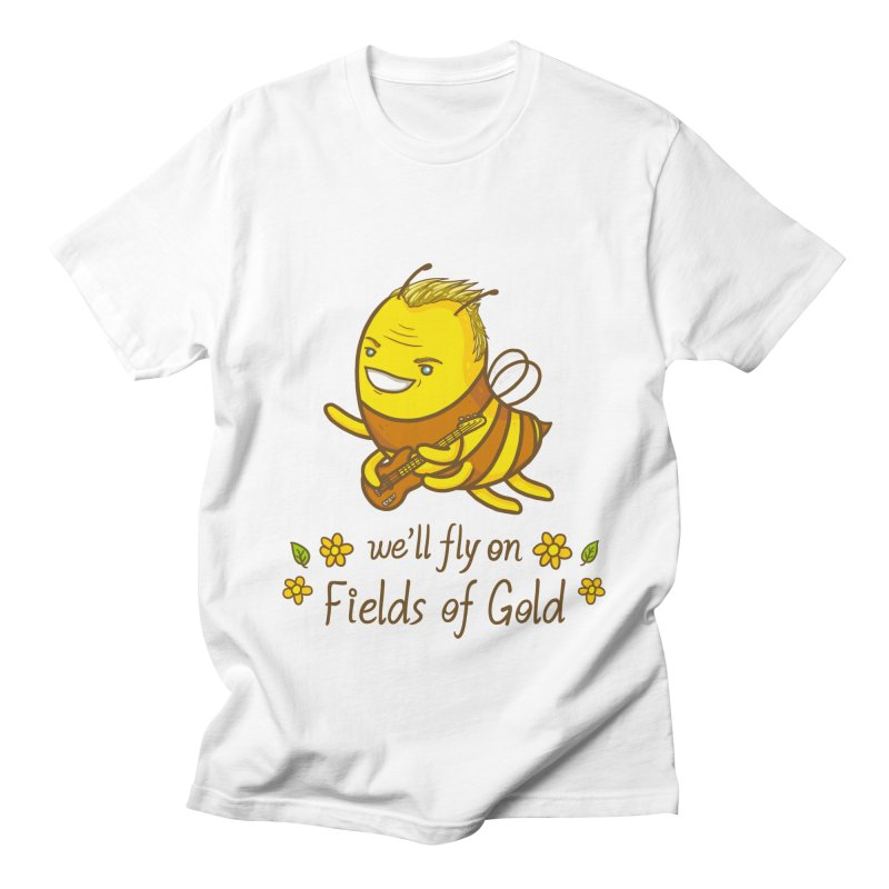 Bee Sting Men's Regular T-Shirt by spookylili