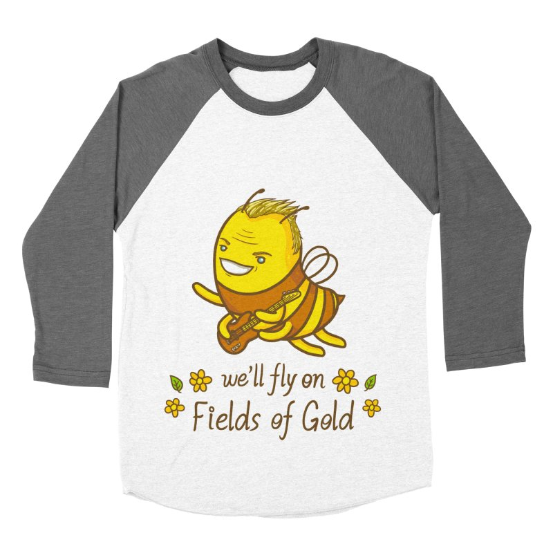 Bee Sting Men's Baseball Triblend T-Shirt by spookylili