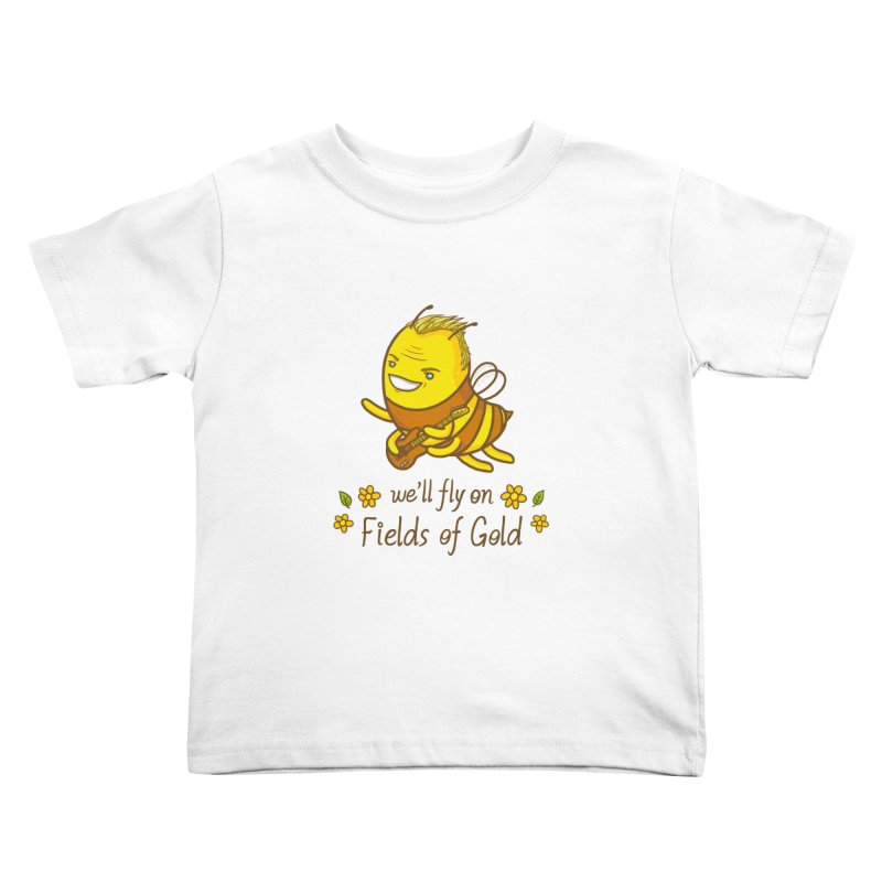 Bee Sting Kids Toddler T-Shirt by spookylili