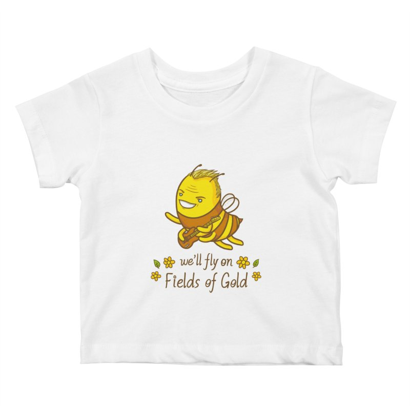 Bee Sting Kids Baby T-Shirt by spookylili