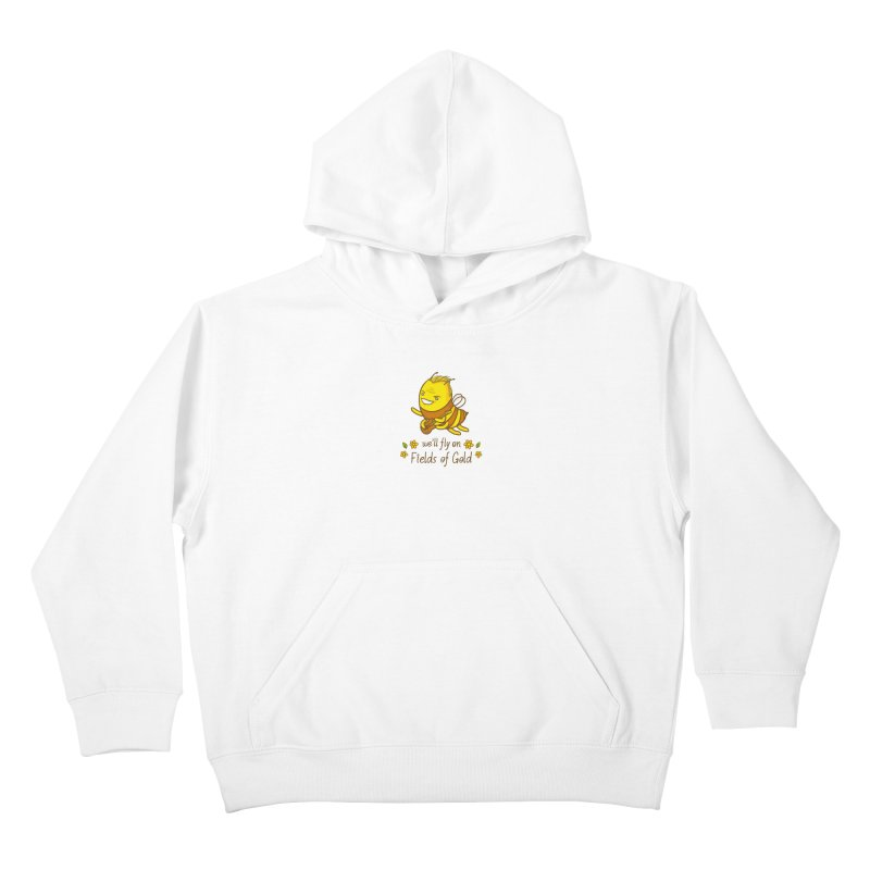 Bee Sting Kids Pullover Hoody by spookylili