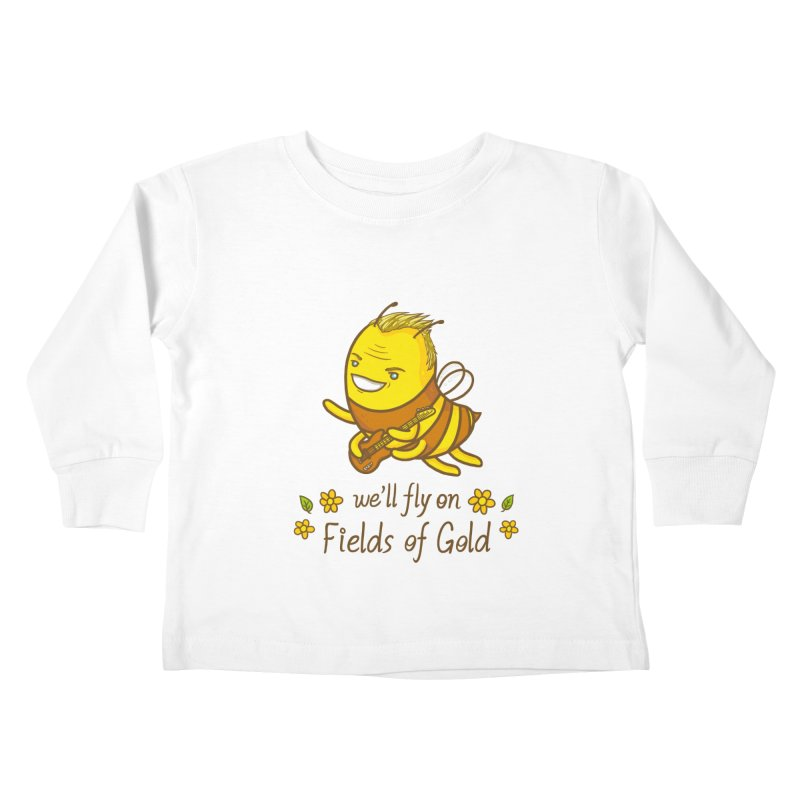Bee Sting Kids Toddler Longsleeve T-Shirt by spookylili