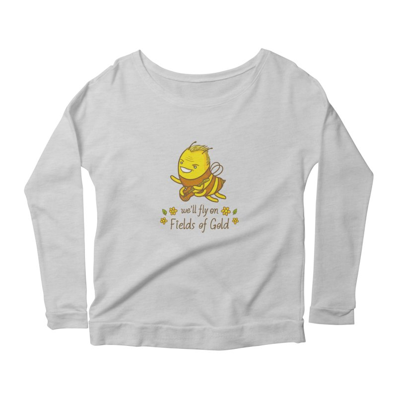 Bee Sting Women's Longsleeve T-Shirt by spookylili
