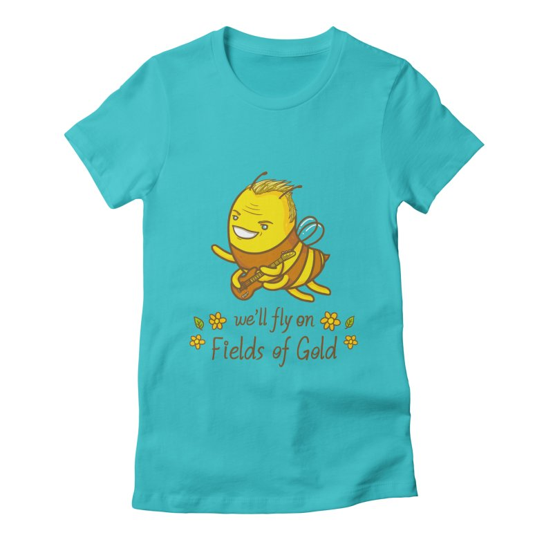 Bee Sting Women's Fitted T-Shirt by spookylili