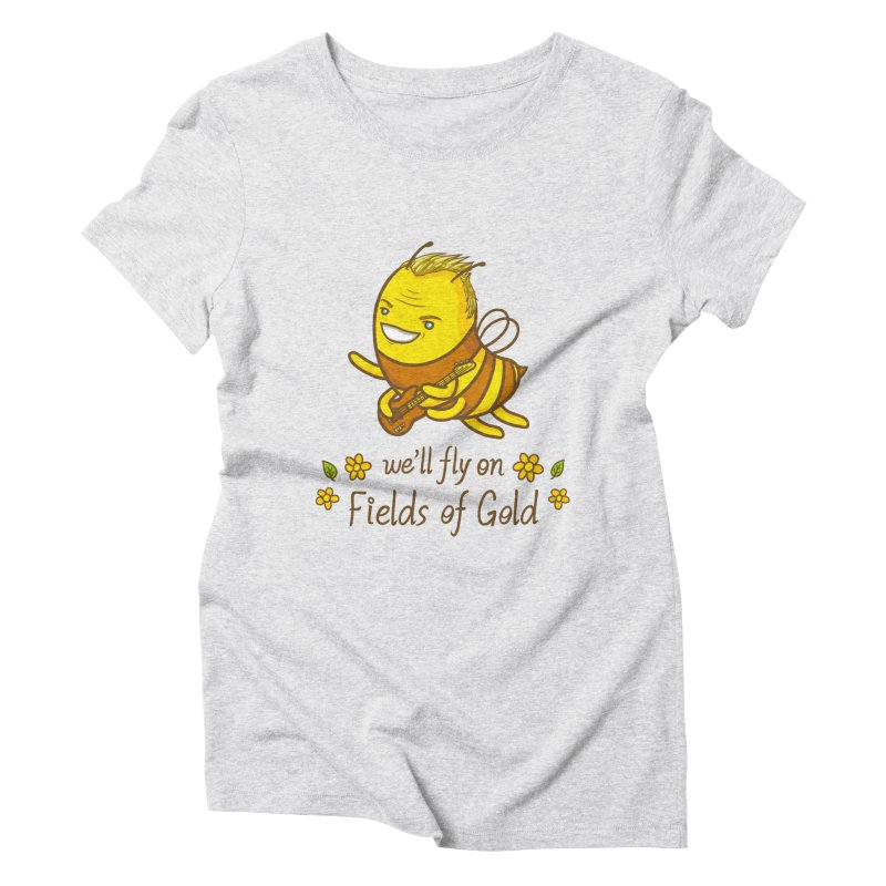 Bee Sting Women's Triblend T-Shirt by spookylili