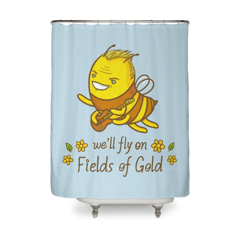 Bee Sting Home Shower Curtain by spookylili