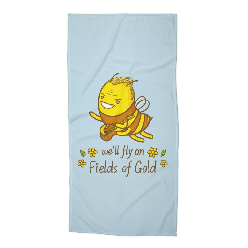 Bee Sting Accessories Beach Towel by spookylili