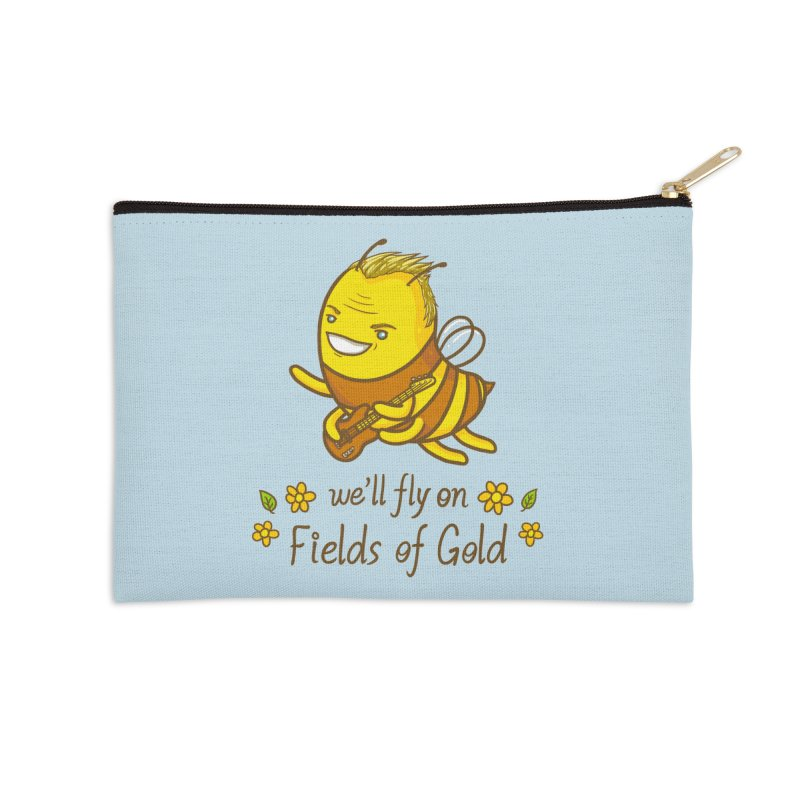 Bee Sting Accessories Zip Pouch by spookylili