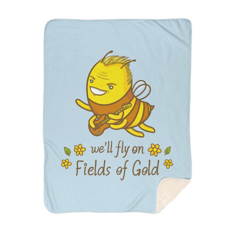 Bee Sting Home Blanket by spookylili