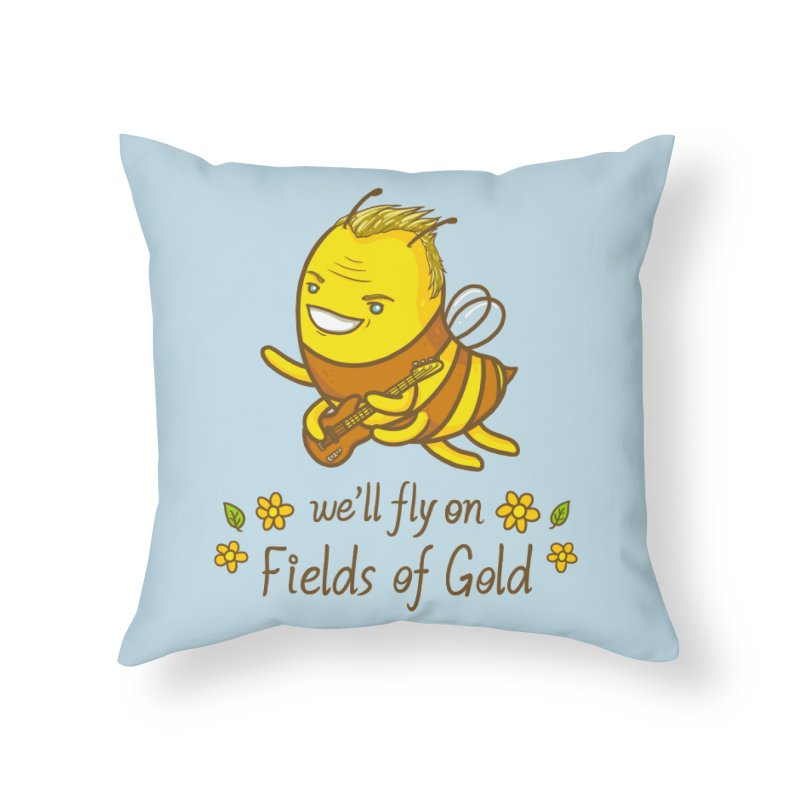 Bee Sting Home Throw Pillow by spookylili