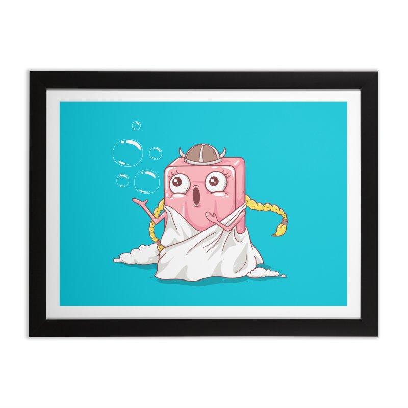 Soap Opera Home Framed Fine Art Print by spookylili