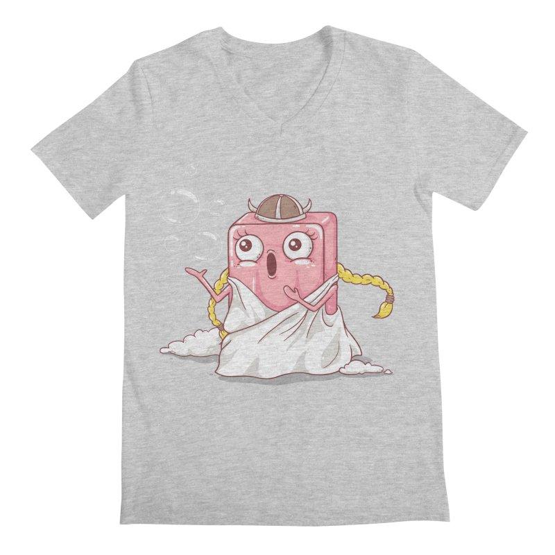 Soap Opera Men's V-Neck by spookylili