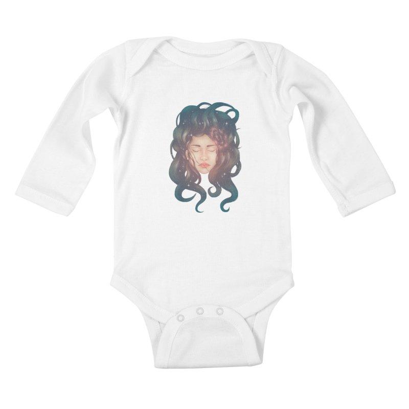 Stargirl Kids Baby Longsleeve Bodysuit by spookylili