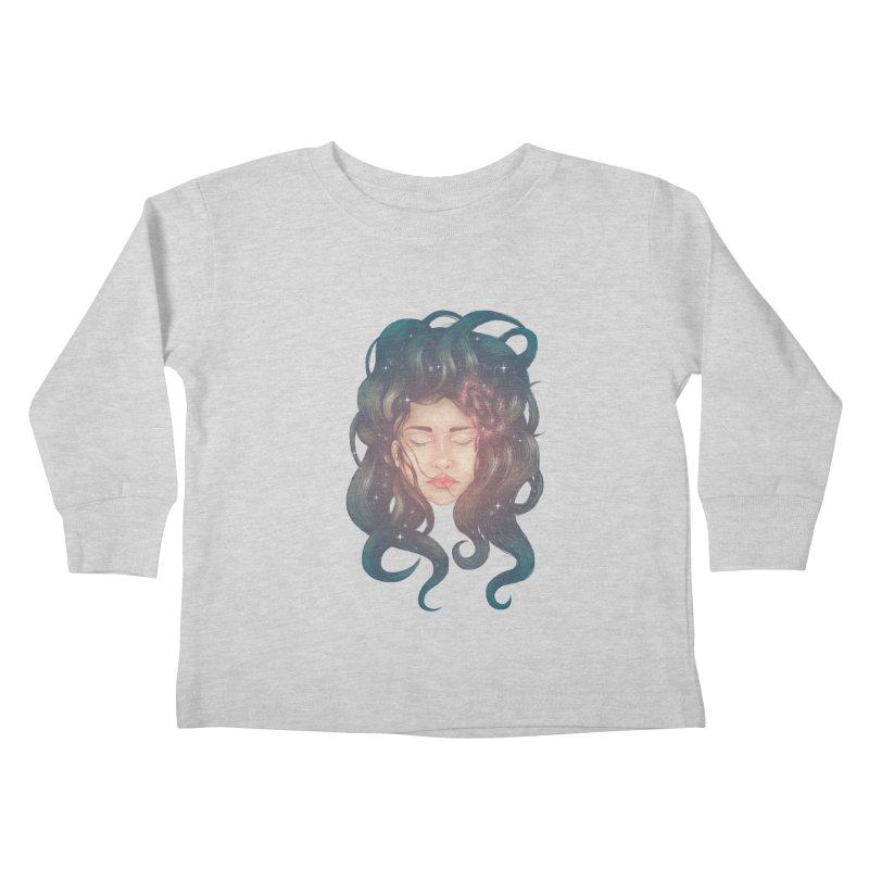 Stargirl Kids Toddler Longsleeve T-Shirt by spookylili