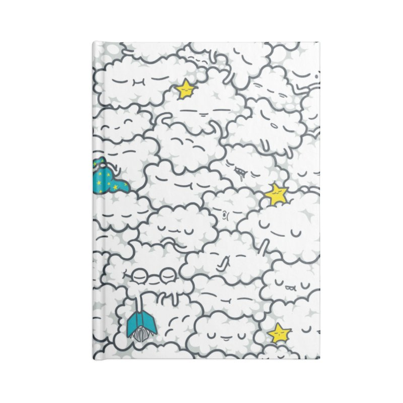 A Cloudy Night Accessories Lined Journal Notebook by spookylili