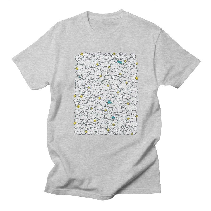 A Cloudy Night Men's T-Shirt by spookylili