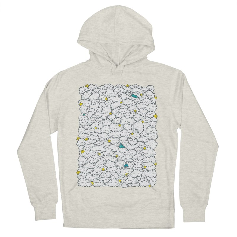 A Cloudy Night Men's French Terry Pullover Hoody by spookylili