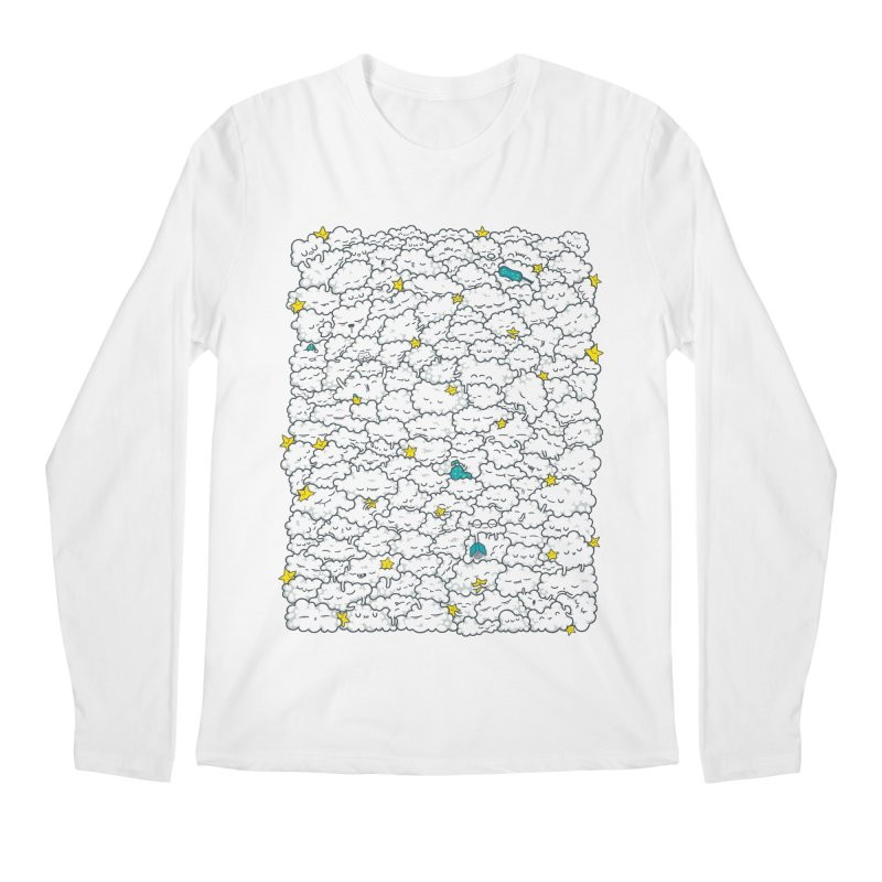 A Cloudy Night Men's Longsleeve T-Shirt by spookylili