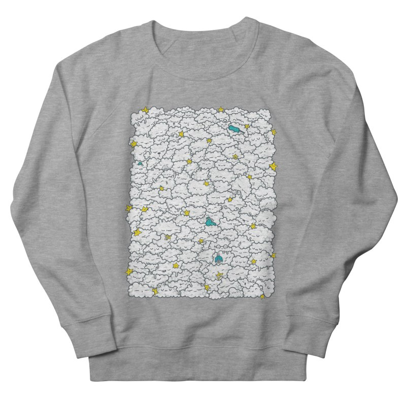 A Cloudy Night Men's French Terry Sweatshirt by spookylili