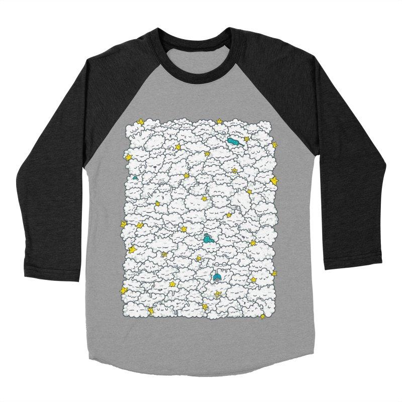 A Cloudy Night Men's Baseball Triblend T-Shirt by spookylili