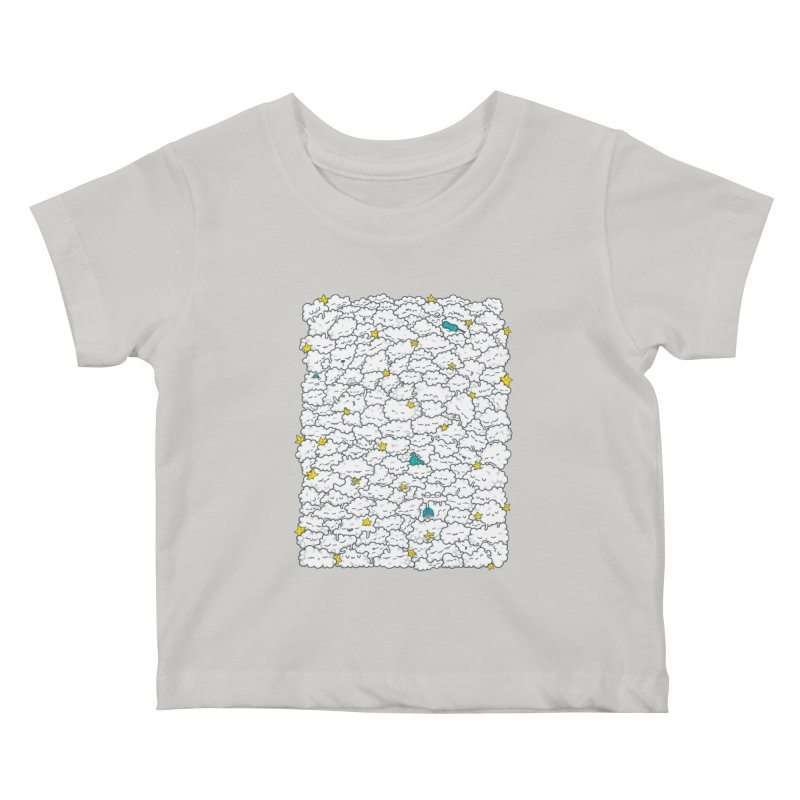 A Cloudy Night Kids Baby T-Shirt by spookylili