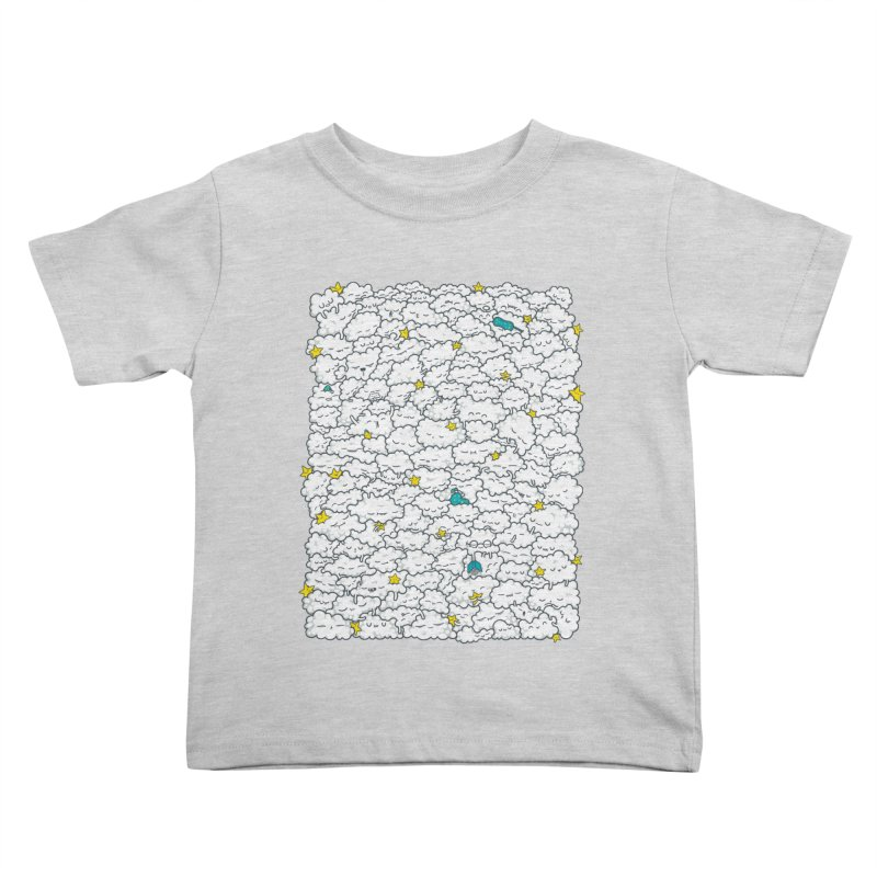 A Cloudy Night Kids Toddler T-Shirt by spookylili
