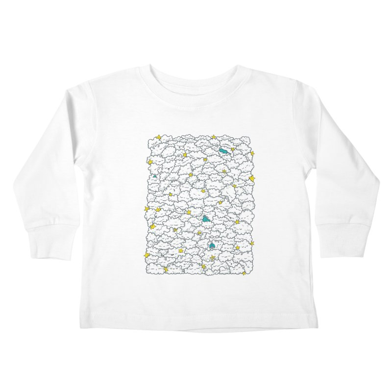 A Cloudy Night Kids Toddler Longsleeve T-Shirt by spookylili