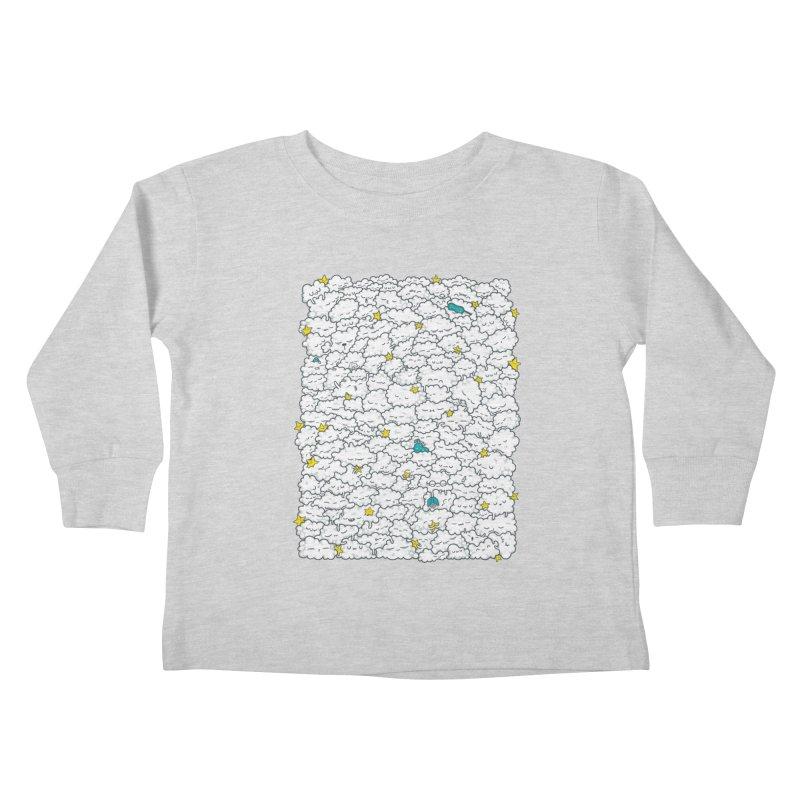 A Cloudy Night Kids Toddler Longsleeve T-Shirt by spookylili