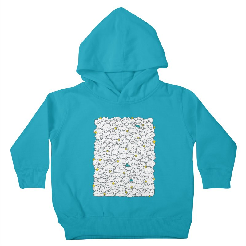 A Cloudy Night Kids Toddler Pullover Hoody by spookylili