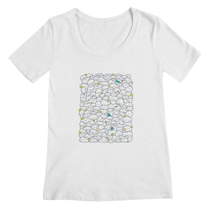 A Cloudy Night Women's Scoop Neck by spookylili