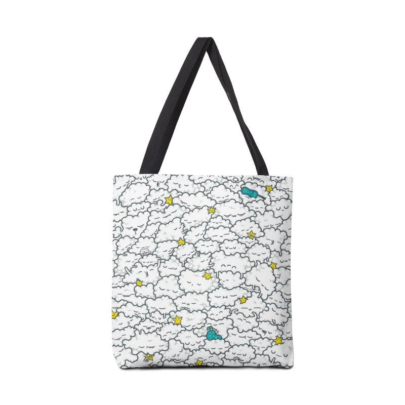A Cloudy Night Accessories Bag by spookylili