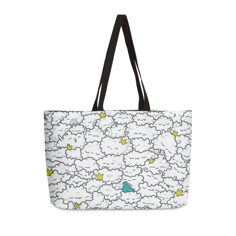 A Cloudy Night Accessories Weekender Bag Bag by spookylili