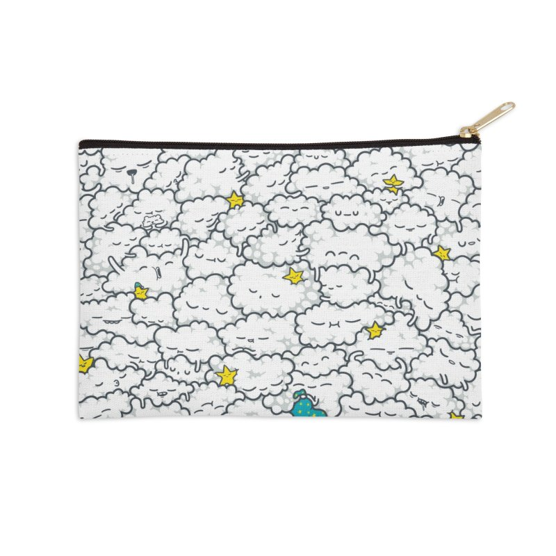 A Cloudy Night Accessories Zip Pouch by spookylili