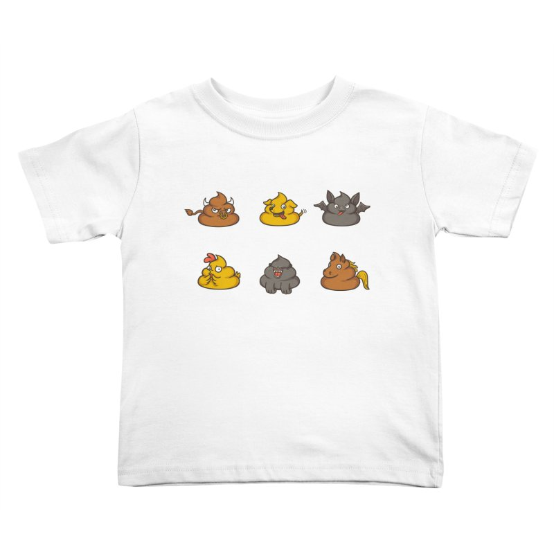 Oh Sh*t Kids Toddler T-Shirt by spookylili