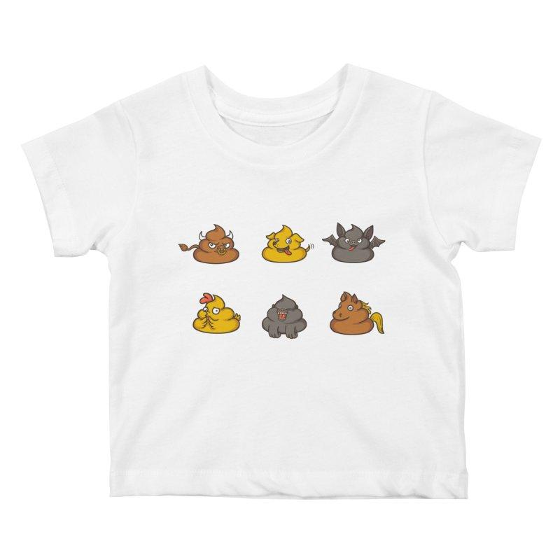 Oh Sh*t Kids Baby T-Shirt by spookylili