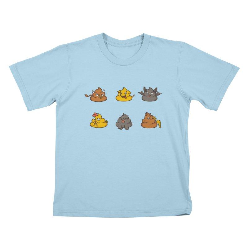 Oh Sh*t Kids T-Shirt by spookylili