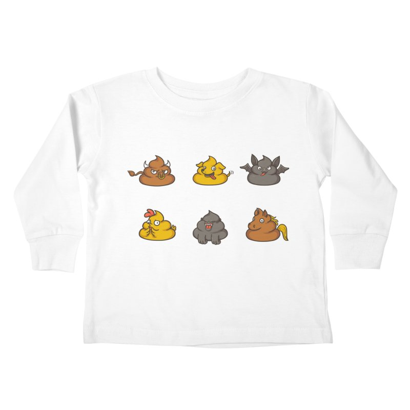 Oh Sh*t Kids Toddler Longsleeve T-Shirt by spookylili