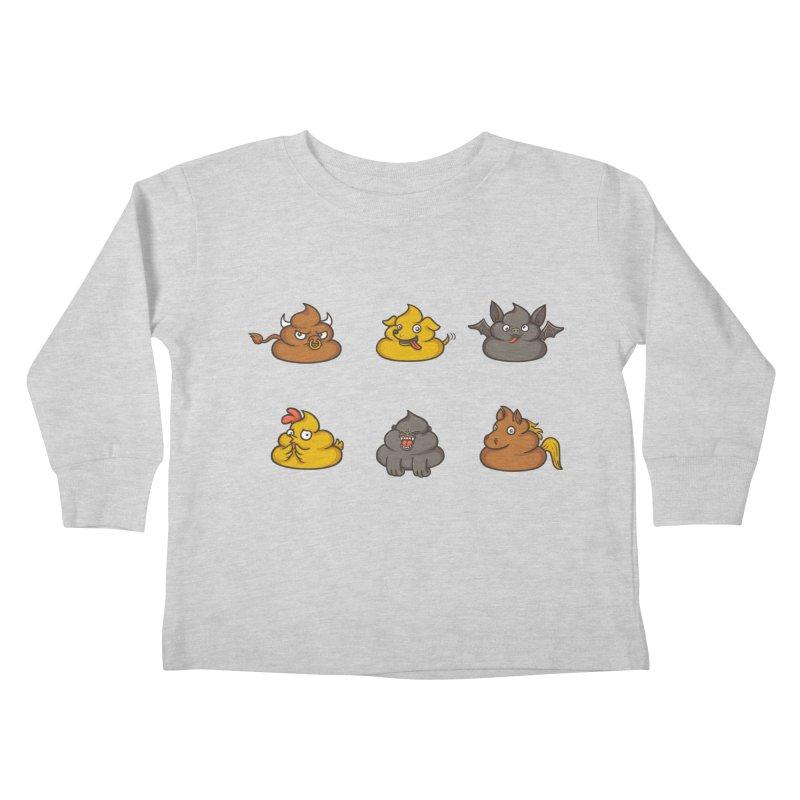 Oh Sh*t Kids Toddler Longsleeve T-Shirt by spookylili