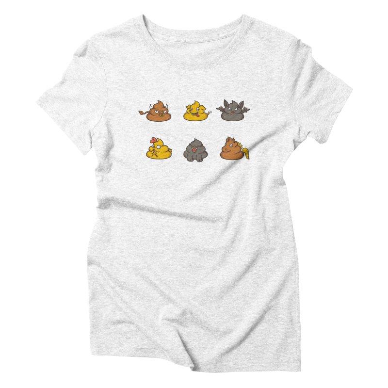 Oh Sh*t Women's Triblend T-shirt by spookylili