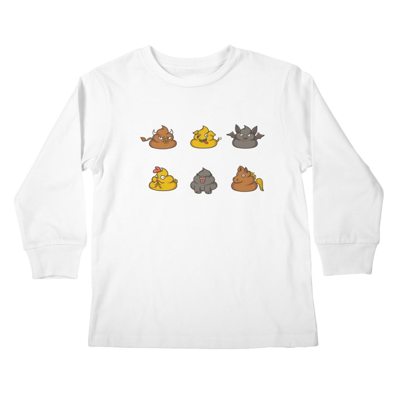 Oh Sh*t Kids Longsleeve T-Shirt by spookylili