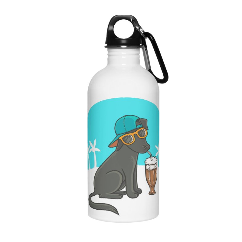 Summertime Accessories Water Bottle by spookylili