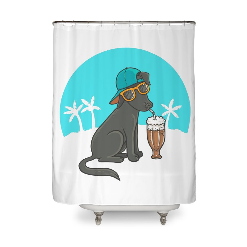 Summertime Home Shower Curtain by spookylili