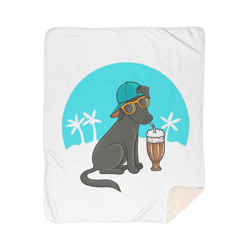 Summertime Home Sherpa Blanket Blanket by spookylili