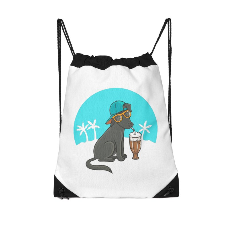 Summertime Accessories Drawstring Bag Bag by spookylili