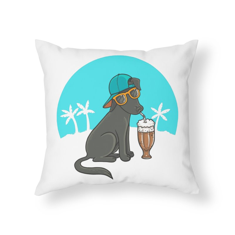 Summertime Home Throw Pillow by spookylili