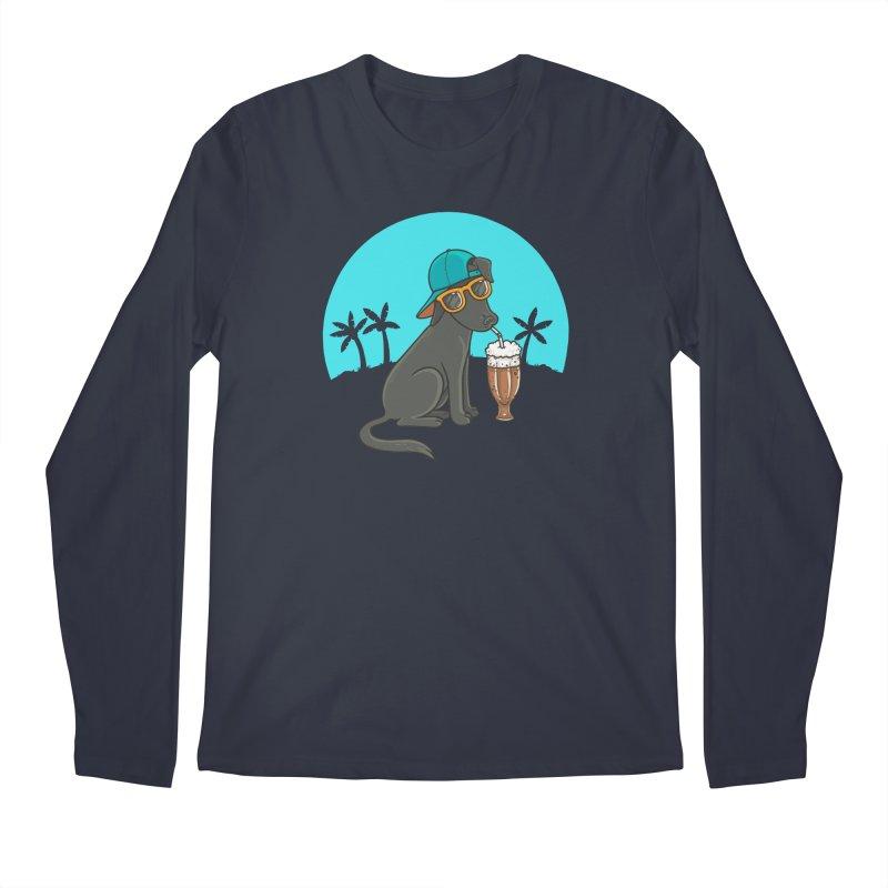 Summertime Men's Regular Longsleeve T-Shirt by spookylili