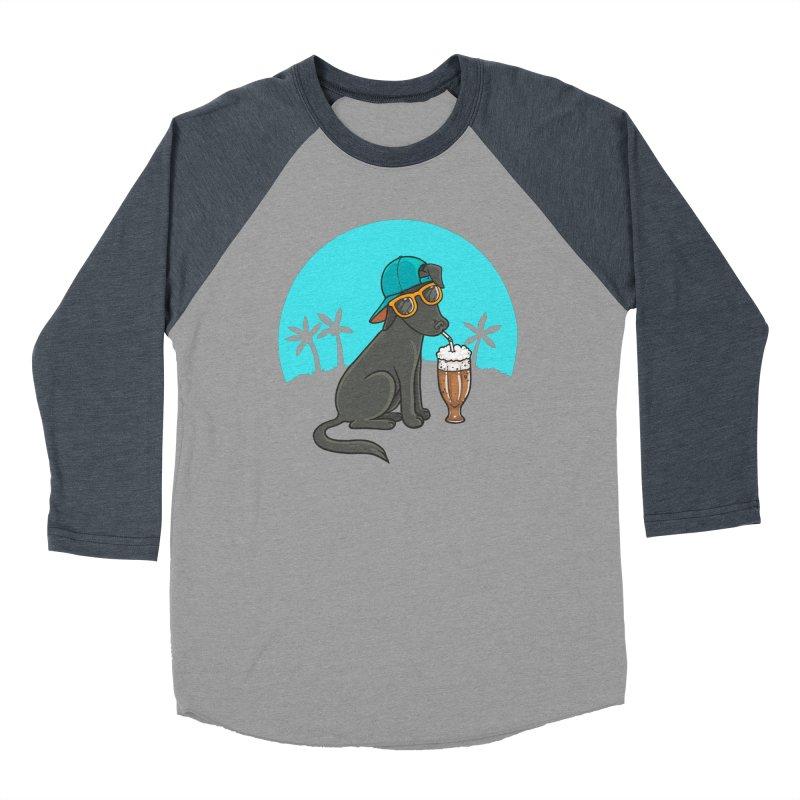 Summertime Men's Baseball Triblend T-Shirt by spookylili